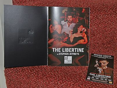 The Libertine. 2016 London programme. Dominic Cooper. Stephen Jeffreys