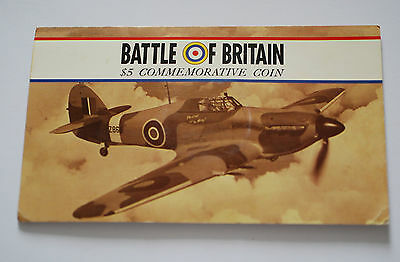 Battle Of Britain $5 Coin. Marshall Islands.
