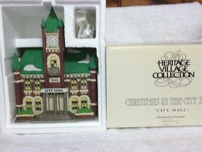 """Dept 56 Christmas In the City """"City Hall"""" 59692"""