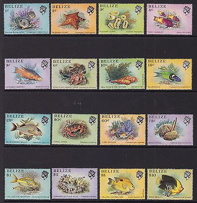 Belize 1984 Marine Life Set, Unmounted Mint