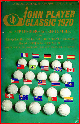 1970 The John Player Classic: Notts. Golf Club, Hollinwell ~ Official programme