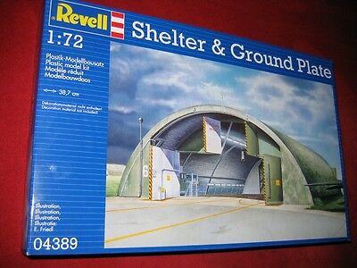 Revell® 04389 1:72 Shelter&ground Plate Brand New Sealed Limited Edition