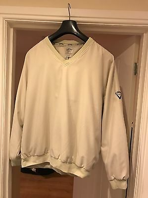 Authentic Men's CALLAWAY Golf Outerwear V-Neck Top Size Large