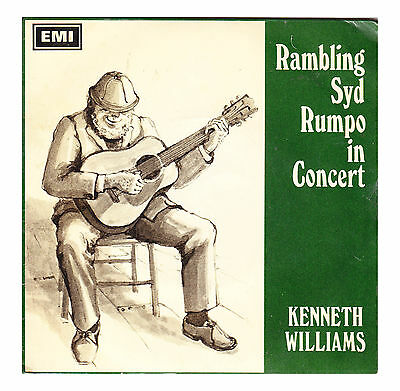 """RAMBLING SYD RUMPO IN CONCERT - Kenneth Williams - 1967 6xTrack 7"""" EP Record"""