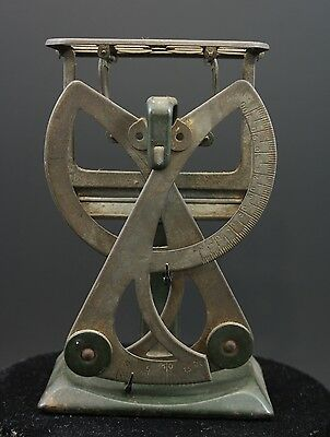 Pese lettre balance bilateral ancien antique french postal scales letter