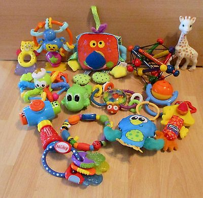 High Chair Toy/ Rattle & Teether Bundle