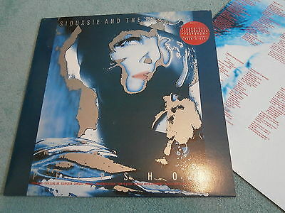 Siouxsie & The Banshees Peepshow Shelp5 Creatures Goth Post Punk Inner Sleeve