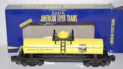 "American Flyer 6-48223 National Toy Train Museum NTTM Work Train Tank Car ""1954"""