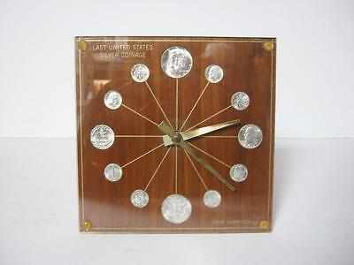 Marion Kay Model 72 Last U.S. 1964 Coinage Numismatic Coin Clock
