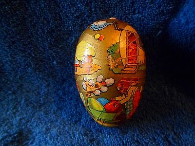 Antique Easter Egg Germany Rabbits Very Nice