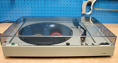 BRAUN PS550S 2.Wahl Grau Plattenspieler Turntable Record Player Shure M95EDM RAM