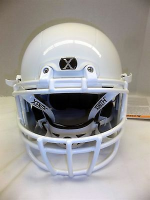 2015/2016 Xenith X2E Youth Football Helmet NEW White XRS-22 Mask Large Auc
