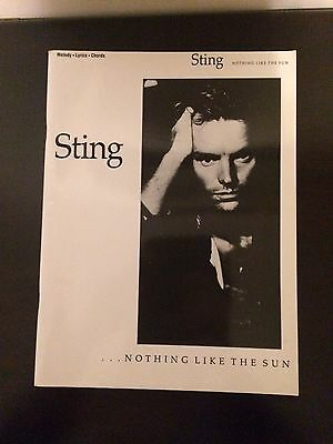 Sting...nothing Like The Sun Songbook
