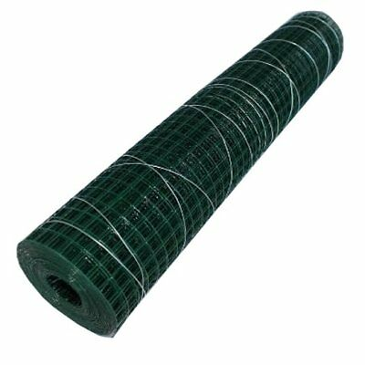 Square Wire Mesh Wire Grid Roll length 5m Green 19, 0mmx500mm