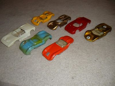 1/24 vintage slot car body lot, NICE,  Ford GT40, Chaparral, Porsche,  CAN AM