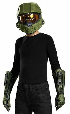 HALO MASTER CHIEF CHILD COSTUME KIT Halloween Cosplay Fancy Dress B11