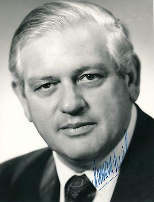 Norman Kirk- Prime Minister of New Zealand- Signed Photograph
