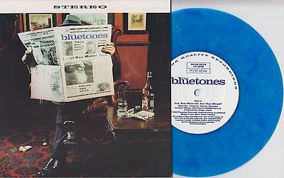 """THE BLUETONES Are You Blue Or Are You Blind? UK ltd blue vinyl 7"""" NEW/UNPLAYED"""