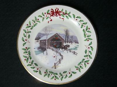 Lenox The Annual Holiday Collector Plate Year 2007 - B004-K