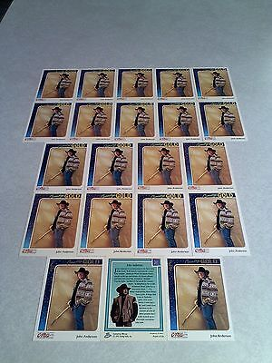 *****John Anderson*****  Lot of 21 cards