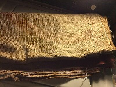 New 1(one) tobacco sheet or spread 8' x 8' burlap sheet