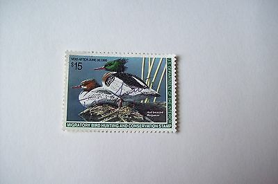 U.s. Department Of The Interior - Migratory Bird Hunting Conservation Stamp 1995