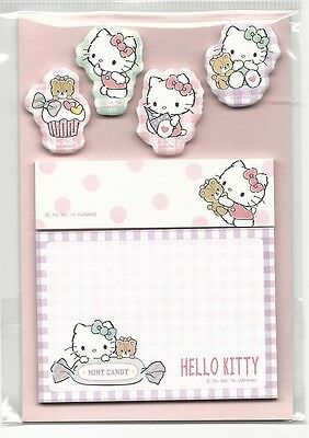 Sanrio Hello Kitty Sticky Notes Tabs Japan Folder