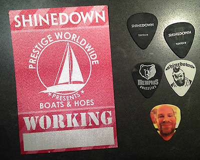 Shinedown Guitar Pick Collection