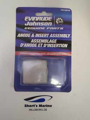 OEM Evinrude Johnson BRP Outboard Rear Gearcase Anode - Stern Drive - 436745