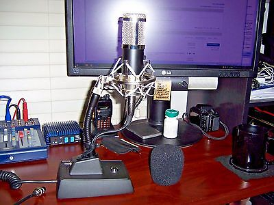 """The """"SMOOTH OPERATOR II"""" Amplified Echo Desk Microphone **ON SALE**"""