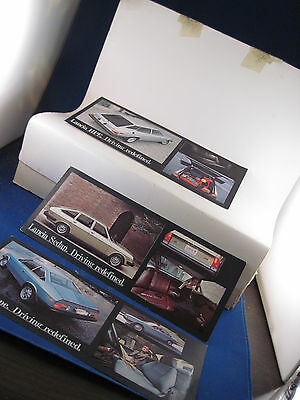 Lancia  Driving Redefined  postcards lot of 3  Coupe Sedan & HPE