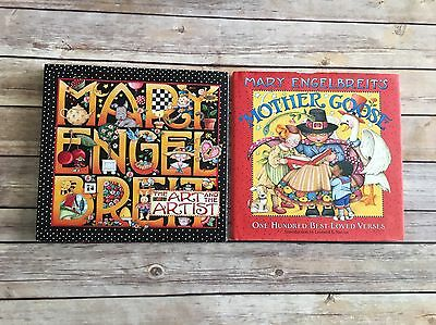 Mary Engelbreit Books Set Art And The Artist Mother Goose Hardcover Illustrated