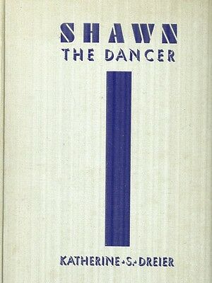 Ted Shawn The Dancer 1St Ed 1933 Signed Playbill Sig Shawn & His Lover B Mumaw