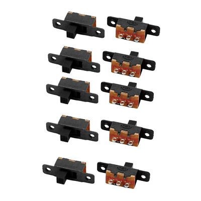 10Pcs SS-12F16 2 Position 3P SPDT Miniature Slide Switch Latching Toggle Switch