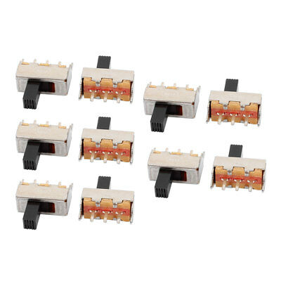 10Pcs 2 Position 3P SPDT Micro Slide Switch Latching Digital Product Switch