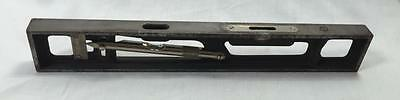 Starrett INCLINE LEVEL $600+ (needs 2 bubbles) machinist engineer FREE SHIPPING