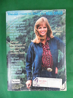 1981 SEARS Catalog - Fall / Winter   1,624 Pages of those '80s Styles!