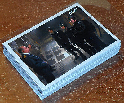 James Bond Archives 2016 ~ THE LIVING DAYLIGHTS Throwback Insert Card Lot (34)