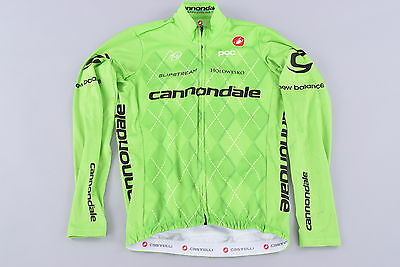 Cannondale Pro Cycling Thermal L/S Jersey by Castelli | Men's Medium