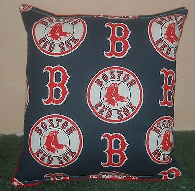 Red Sox Pillow Boston Red Sox Pillow MLB Red Soxs Handmade in USA