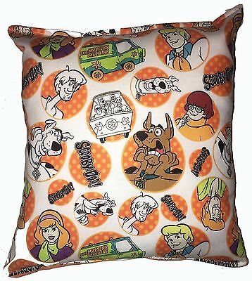 Scooby-Doo Pillow Scooby Pillow Mystery Machine Shaggy Pillow HANDMADE in USA