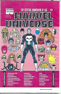 Official Handbook of the Marvel Universe Master Edition #5 (1991) Sealed - NM