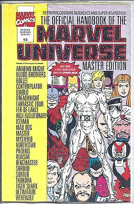 Official Handbook of the Marvel Universe Master Edition #13  Sealed - NM