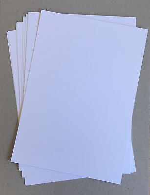 200 X Sheets SUPER WHITE 250gsm Smooth A4 cardstock Card acid free PREMIUM CARD
