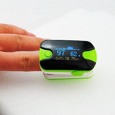 Pulse Oximeter  Audio Alarm Pulse Sound Oximetery  Monitor Color OLED display
