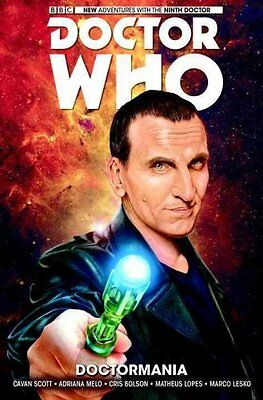 Doctor Who: The Ninth Doctor: Doctormania Volume 2 by Adriana Melo 9781785861109