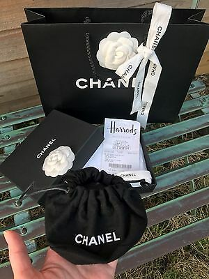 chanel jewellery box with original pouch,carrier bag ''gift wrapping''