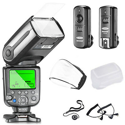 Neewer NW-565C Kit de Flash Esclavo E-TTL Canon EOS 650D 600D 1100D