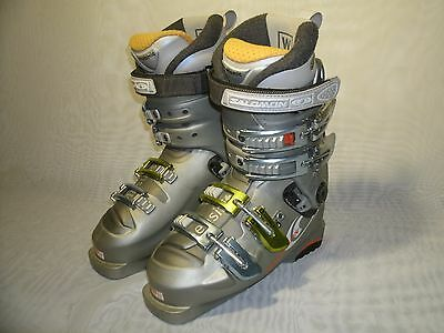 Salomon Evolution 8.0 Sensifit Flex Ski Boots / Size 23.5 Us 6 Women's