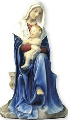 Madonna And Child Mary Our Lady Veronese Hand Crafted Statue Really Beautiful